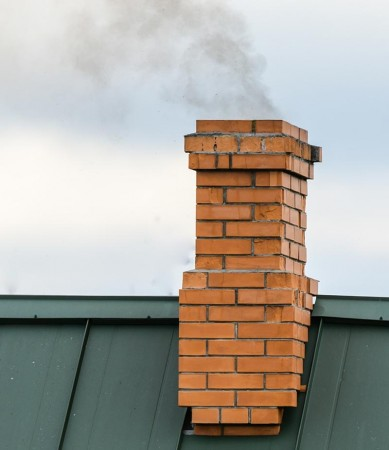 Må det søkes om å sette inn nytt ildsted/ bygge ny pipe